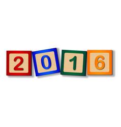 2016 blocks vector