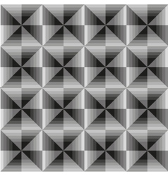 Abstract geometric grey seamless background vector image
