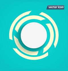 background flat design vector image
