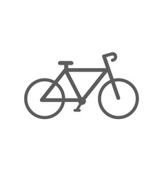 bike sport icon vector image