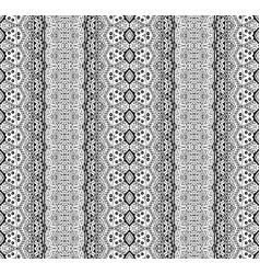 black and white hand drawn wallpaper for coloring vector image
