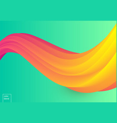 Colorful mellow wave vector