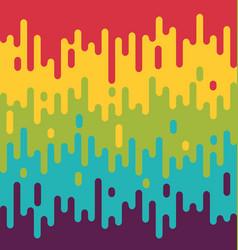 Colorful melting background summer modern vector
