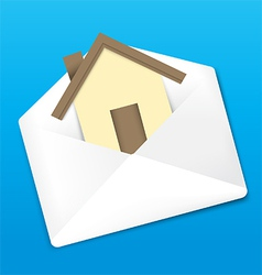 Envelope and home vector