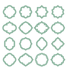 islamic shape vector images over 15 000 vectorstock