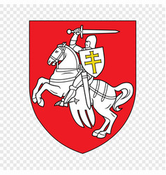 Old symbol belarus vector