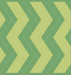 seamless argyle plaid blue pattern diamond check vector image
