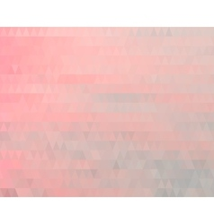Triangles polygonal background vector image