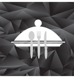 Symbol of Restaurant vector image