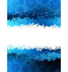Christmas blue background EPS 8 vector image