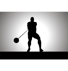 Hammer Thrower vector
