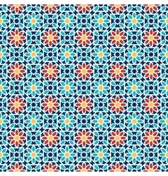 Islamic seamless pattern arabian geometric vector image