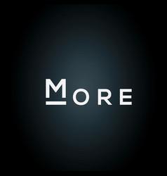 More logo vector