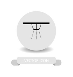 Sprinklers icon vector