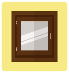 Windowflat icon closed window vector image