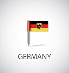 germany flag pin vector image