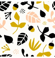 Seamless Autumn Pattern vector image vector image
