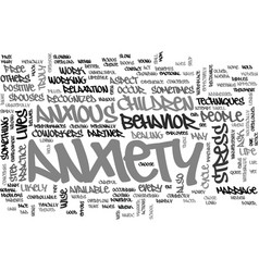 anxiety dont feel alone everyone experience it vector image