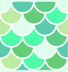 green scales seamless pattern vector image