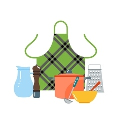 Kitchenware icons vector image vector image