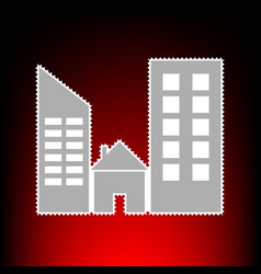 real estate style vector image
