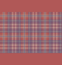 classic seamless pattern check fabric texture vector image