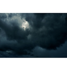 Dark skies vector