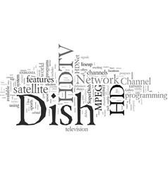 Dish network hdtv vector