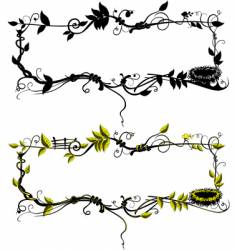 Frame of branches vector