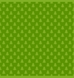 Green seamless retro stylized pine tree forest vector