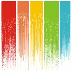 Grunge drips background vector