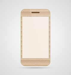 Mobile phone vector image