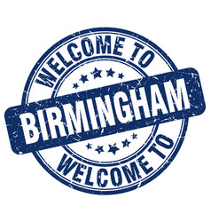 Welcome to birmingham vector
