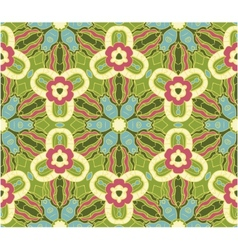 Seamless ornamental patter vector image