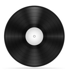 retro vinyl disk stock vector image