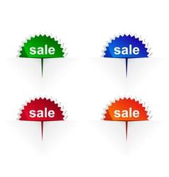 Sale label vector image vector image