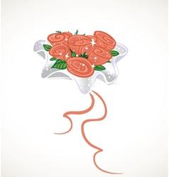 Wedding Bouquet for bride vector image vector image