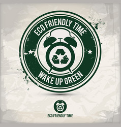 Alternative eco time stamp vector