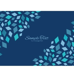 Blue mosaic texture horizontal double vector