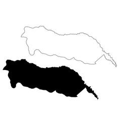 Igdir map vector