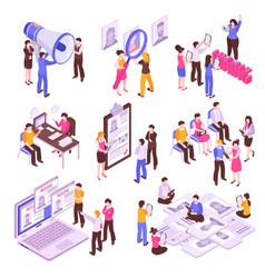 Job search set vector