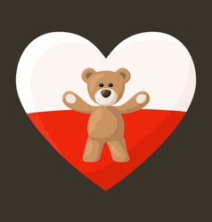 Polish Teddy Bears vector