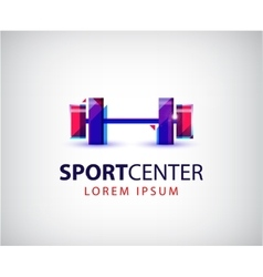 sport logo icon design vector image