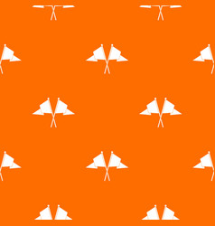 Two flags pattern seamless vector
