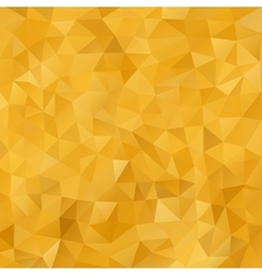 Mosaic Golden abstract templates vector image vector image
