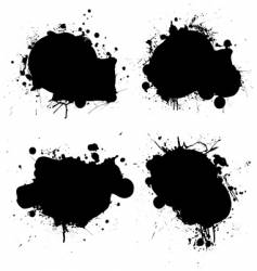 nk splat vector image vector image