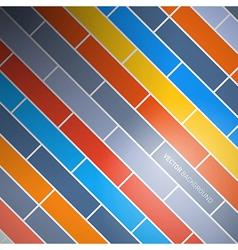 Abstract Retro Brick Background vector image vector image