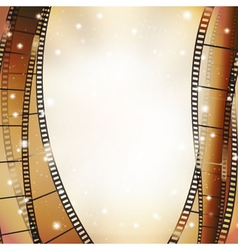 vert film background vector image