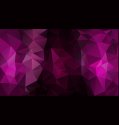 Abstract irregular polygon background fuchsia vector
