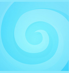 bright swirl in blue colors vector image